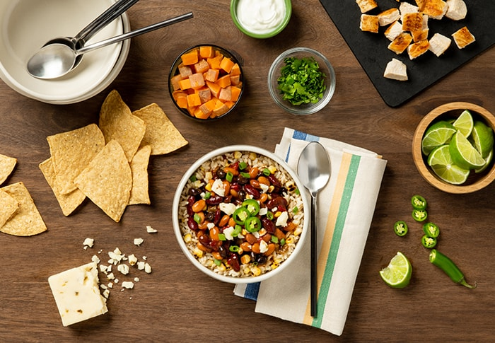 Seeds of Change® Hearty 3 Bean Chili Recipe