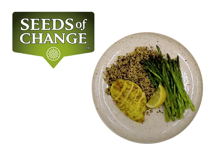 Seeds of Change® Lemon Garlic and Oregano Recipe