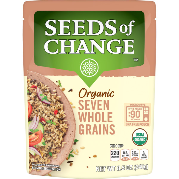 Seeds of Change® Seven Whole Grains Front of Pack