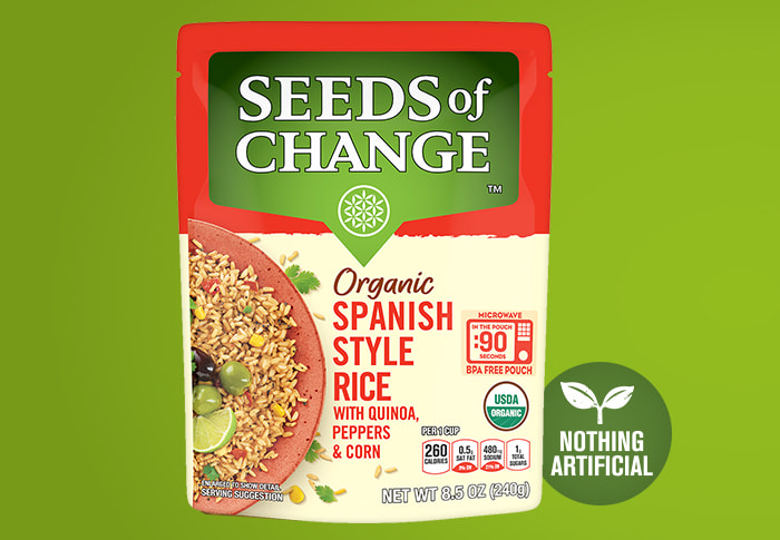 Seeds of Change® Spanish Style Rice Front of Pack