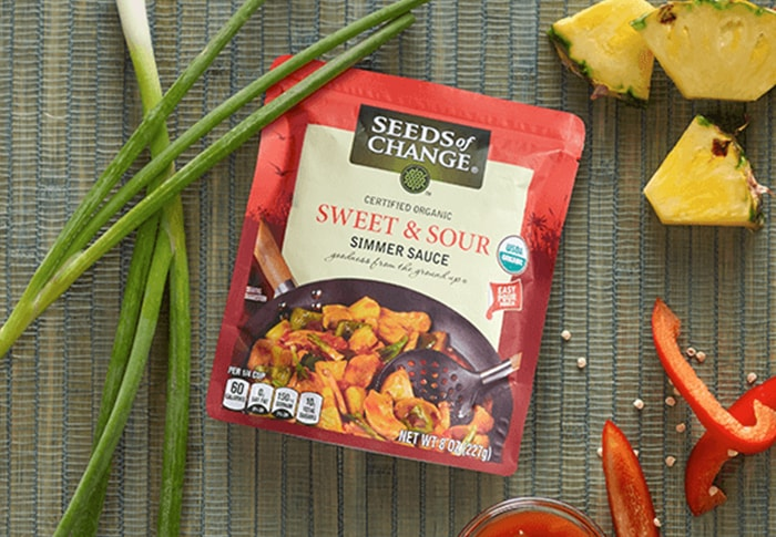 Seeds of Change® Sweet and Sour Simmer Souce Recipe