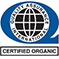 """Quality Assurance International logo with text that reads """"Certified Organic"""""""