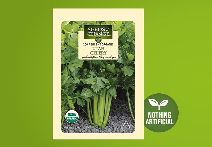 Seeds of Change® Organic Utah Celery Seeds Front of Pack