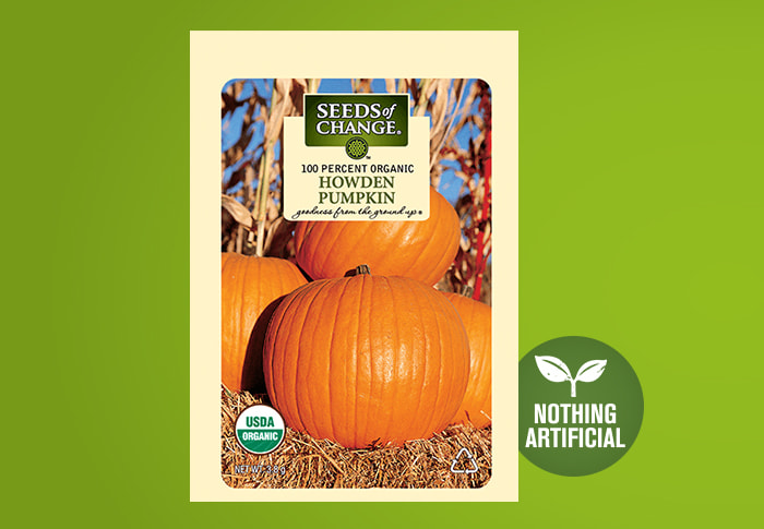Seeds of Change® Organic Howden Pumpkin Seeds Front of Pack