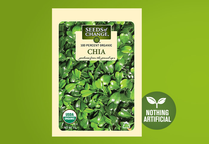 Seeds of Change® Organic Chia Seeds Front of Pack