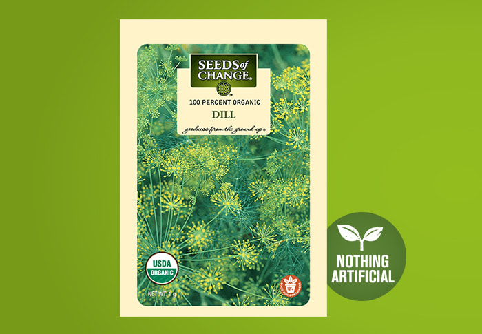 Seeds of Change® Organic Dill Seeds Front of Pack