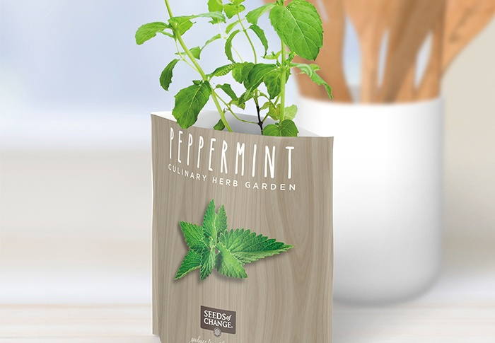 Seeds of Change® Organic Peppermint Garden in a Pouch plant