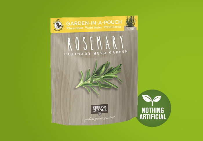 Seeds of Change® Rosemary Front of Pack