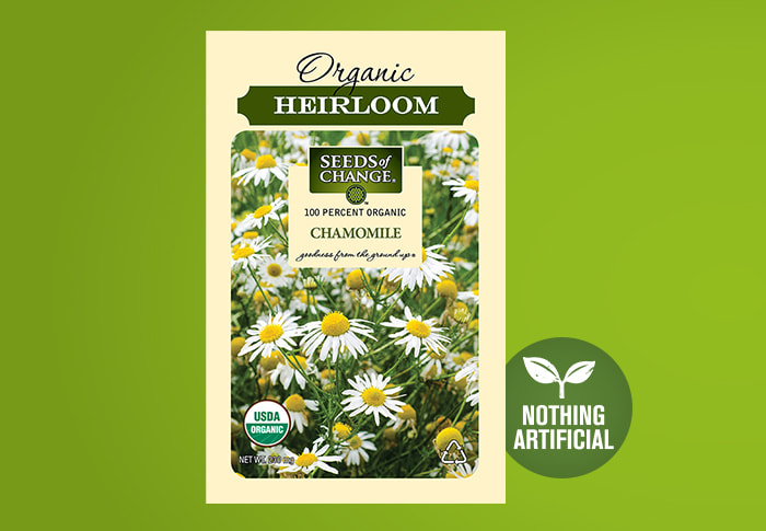 Seeds of Change® Chamomile Front of Pack