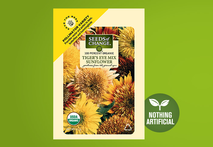 Seeds of Change® Sunflower Front of Pack