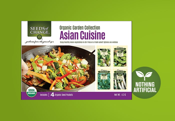 Seeds of Change® Asian Cuisine Collection Front of Pack