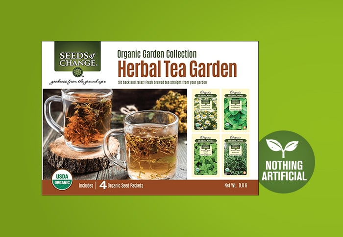 Seeds of Change® Herbal Tea Garden Collection Front of Pack