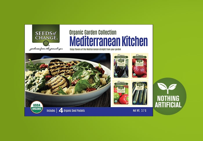 Seeds of Change® Mediterranean Kitchen Collection Front of Pack